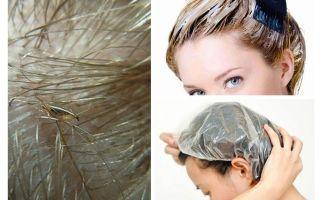 Läuse sterben, wenn Sie Ihre Haare färben