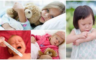 Die Temperatur von Mückenstichen bei Erwachsenen und Kindern