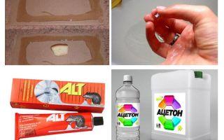 Wie man den Kleber von Mäusen wäscht