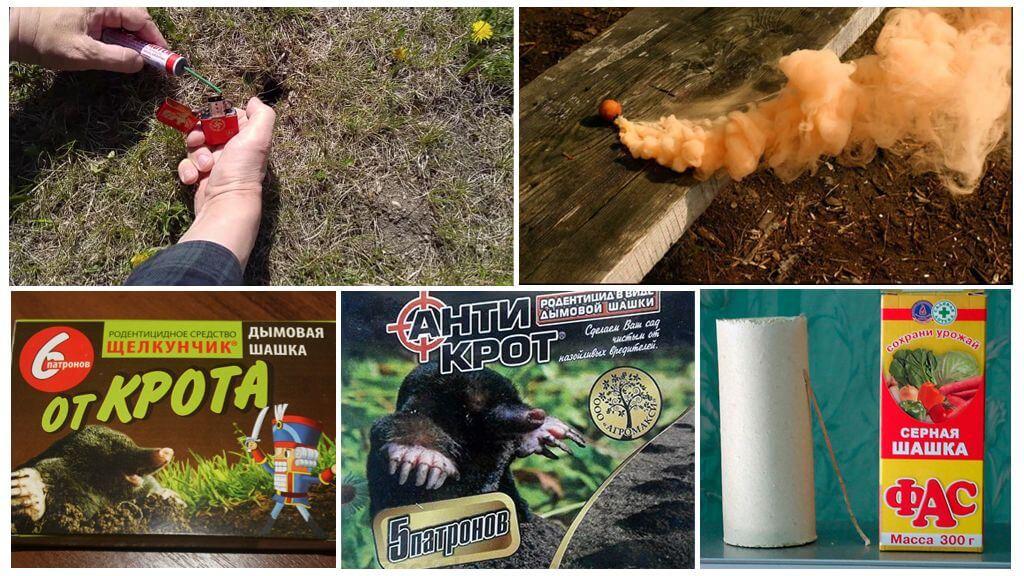 Rauchbomben von Molen